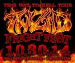 10/30/14 Detroit, Mi THIS WAY TO HELL DEVILS NIGHT Concert Ticket